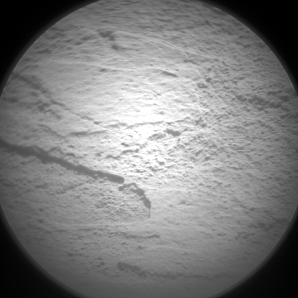 Nasa's Mars rover Curiosity acquired this image using its Chemistry & Camera (ChemCam) on Sol 1348, at drive 1490, site number 54