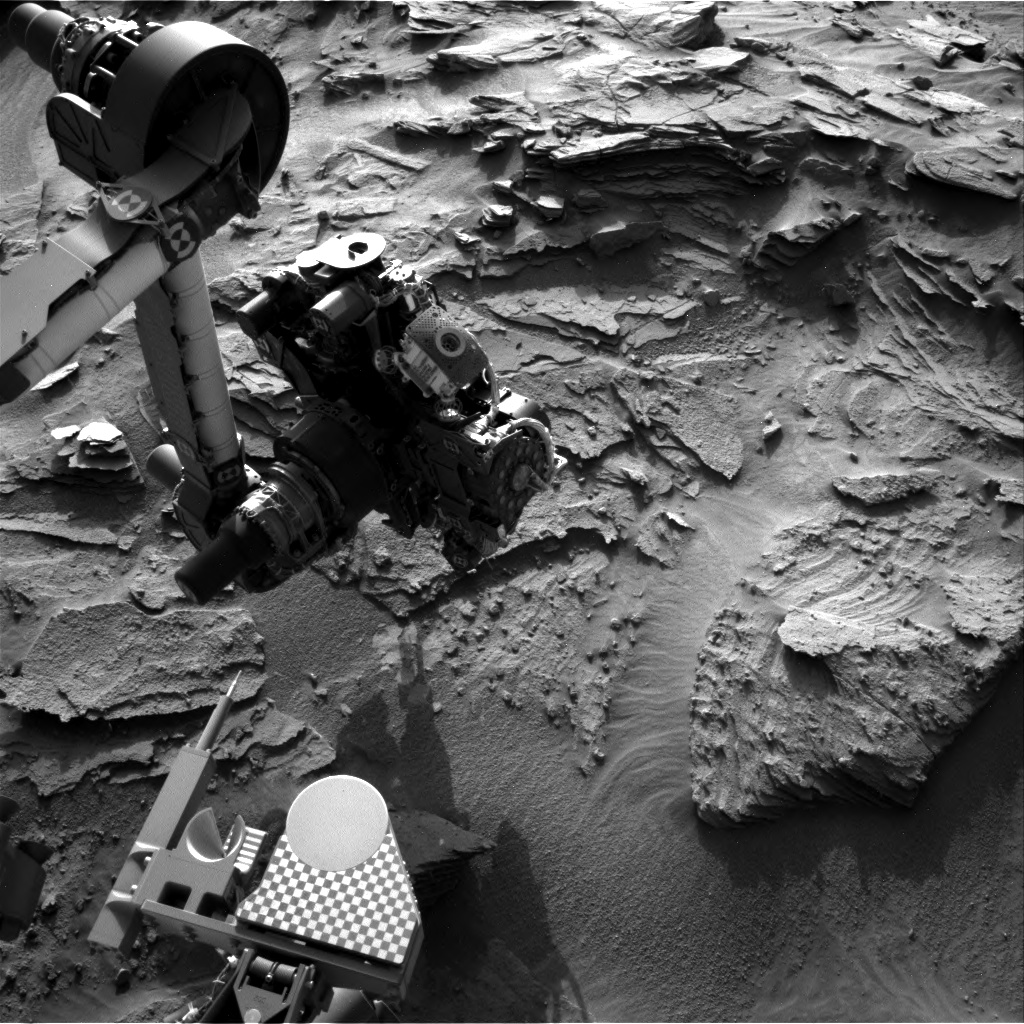 Nasa's Mars rover Curiosity acquired this image using its Right Navigation Camera on Sol 1348, at drive 1490, site number 54