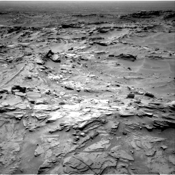 Nasa's Mars rover Curiosity acquired this image using its Right Navigation Camera on Sol 1349, at drive 1496, site number 54