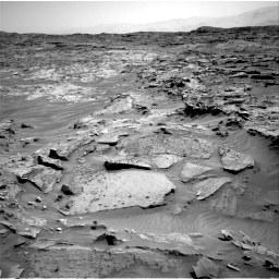 Nasa's Mars rover Curiosity acquired this image using its Right Navigation Camera on Sol 1349, at drive 1502, site number 54
