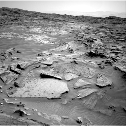 Nasa's Mars rover Curiosity acquired this image using its Right Navigation Camera on Sol 1349, at drive 1508, site number 54