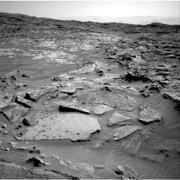 Nasa's Mars rover Curiosity acquired this image using its Right Navigation Camera on Sol 1349, at drive 1520, site number 54