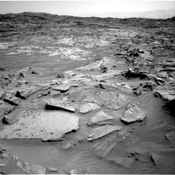 Nasa's Mars rover Curiosity acquired this image using its Right Navigation Camera on Sol 1349, at drive 1532, site number 54