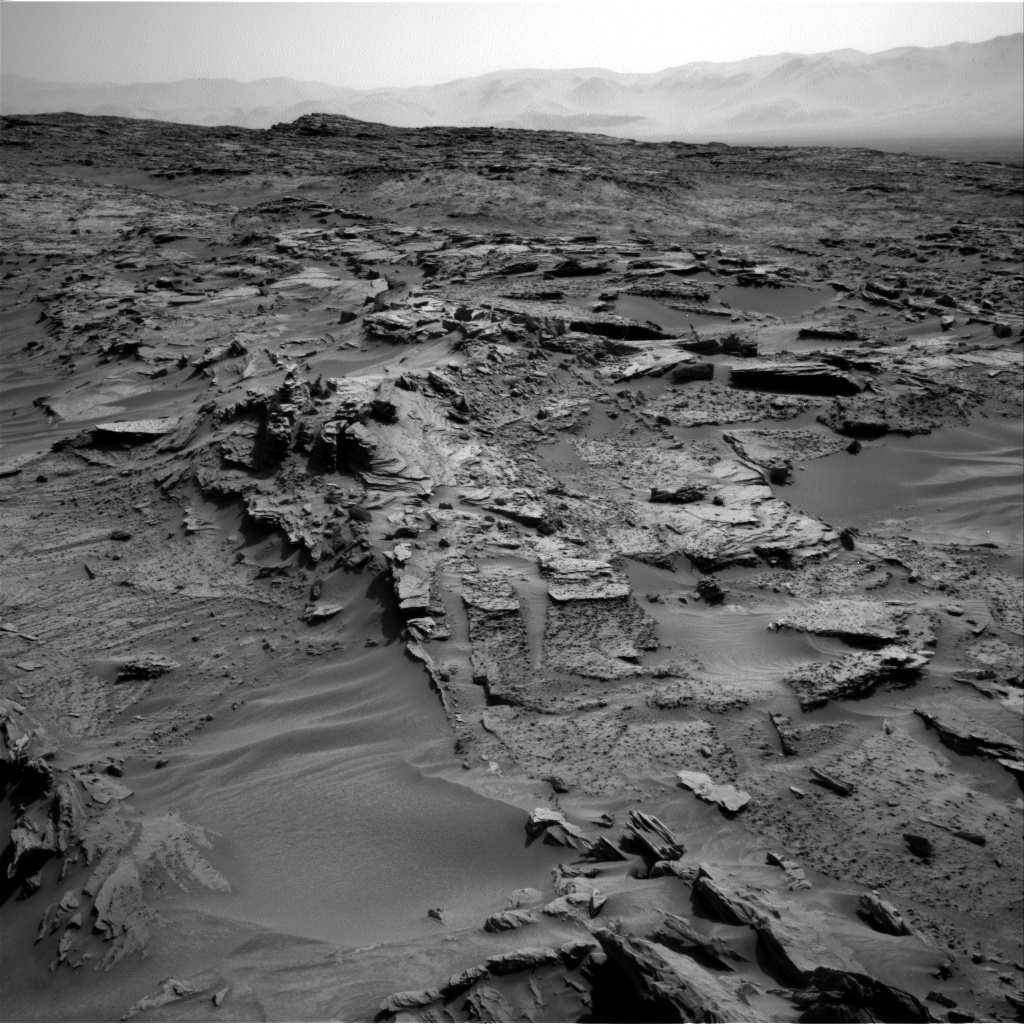Nasa's Mars rover Curiosity acquired this image using its Right Navigation Camera on Sol 1349, at drive 1586, site number 54