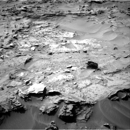 Nasa's Mars rover Curiosity acquired this image using its Right Navigation Camera on Sol 1349, at drive 1592, site number 54