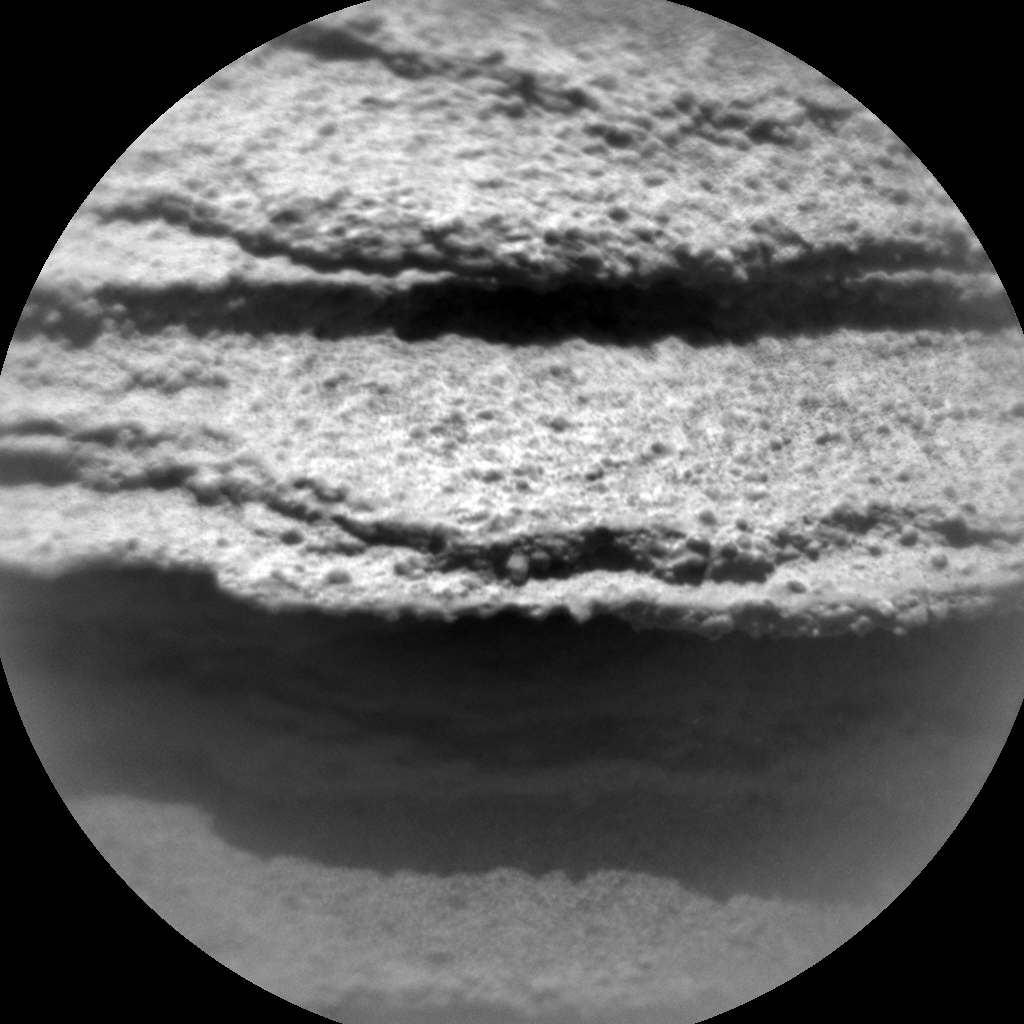 Nasa's Mars rover Curiosity acquired this image using its Chemistry & Camera (ChemCam) on Sol 1349, at drive 1490, site number 54