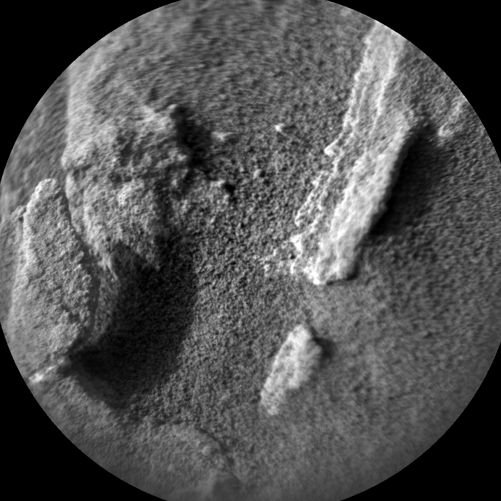 Nasa's Mars rover Curiosity acquired this image using its Chemistry & Camera (ChemCam) on Sol 1349, at drive 1610, site number 54