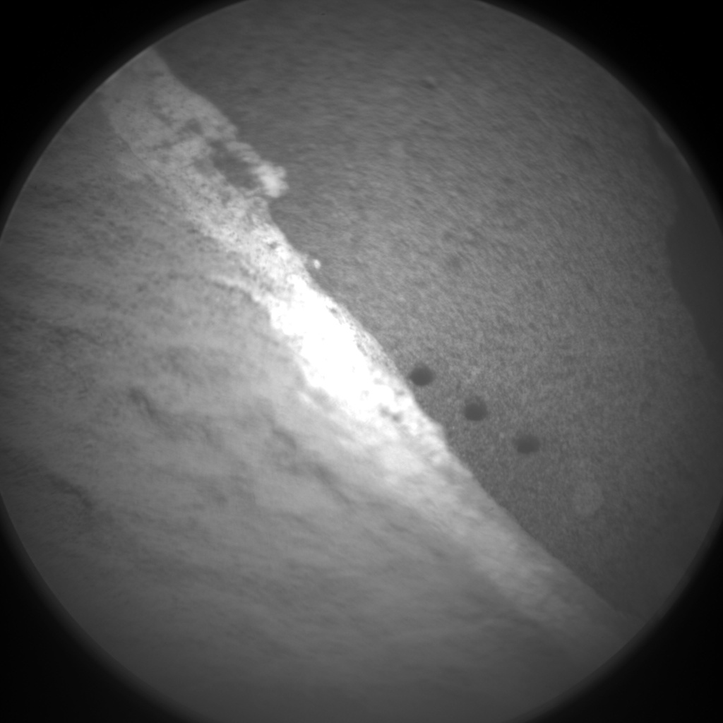 Nasa's Mars rover Curiosity acquired this image using its Chemistry & Camera (ChemCam) on Sol 1350, at drive 1610, site number 54