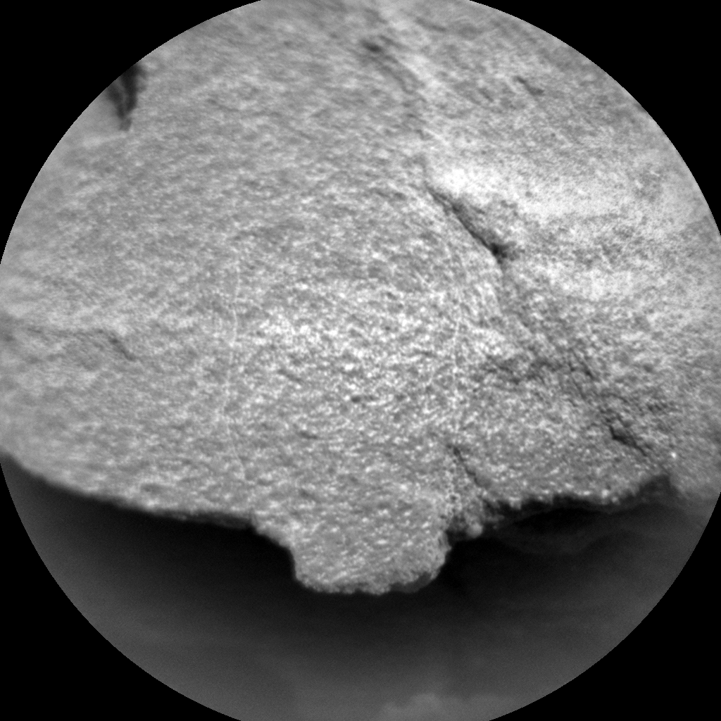 Nasa's Mars rover Curiosity acquired this image using its Chemistry & Camera (ChemCam) on Sol 1351, at drive 1610, site number 54