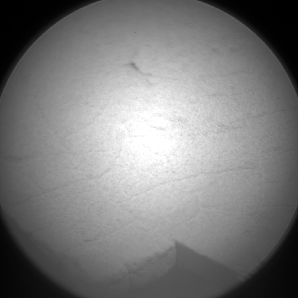Nasa's Mars rover Curiosity acquired this image using its Chemistry & Camera (ChemCam) on Sol 1352, at drive 1610, site number 54