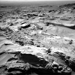 Nasa's Mars rover Curiosity acquired this image using its Left Navigation Camera on Sol 1352, at drive 1772, site number 54