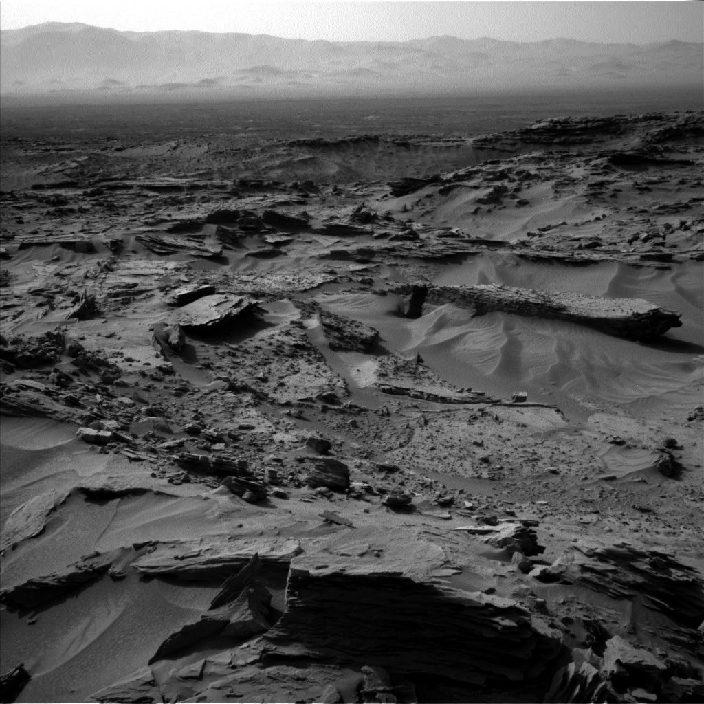 Nasa's Mars rover Curiosity acquired this image using its Left Navigation Camera on Sol 1352, at drive 1778, site number 54