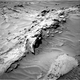 Nasa's Mars rover Curiosity acquired this image using its Right Navigation Camera on Sol 1352, at drive 1616, site number 54