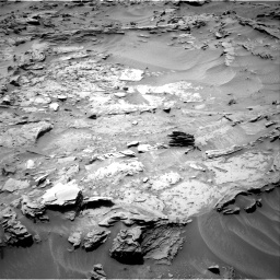 Nasa's Mars rover Curiosity acquired this image using its Right Navigation Camera on Sol 1352, at drive 1628, site number 54