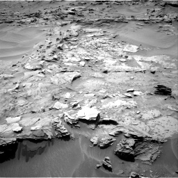 Nasa's Mars rover Curiosity acquired this image using its Right Navigation Camera on Sol 1352, at drive 1634, site number 54