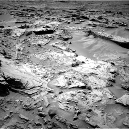 Nasa's Mars rover Curiosity acquired this image using its Right Navigation Camera on Sol 1352, at drive 1700, site number 54