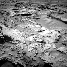 Nasa's Mars rover Curiosity acquired this image using its Right Navigation Camera on Sol 1352, at drive 1742, site number 54