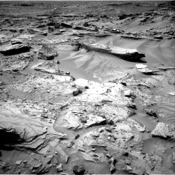 Nasa's Mars rover Curiosity acquired this image using its Right Navigation Camera on Sol 1352, at drive 1760, site number 54