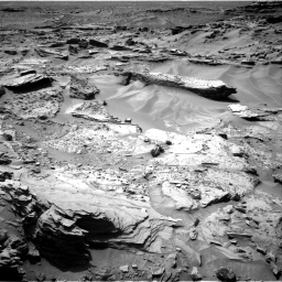 Nasa's Mars rover Curiosity acquired this image using its Right Navigation Camera on Sol 1352, at drive 1766, site number 54