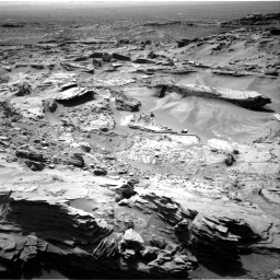 Nasa's Mars rover Curiosity acquired this image using its Right Navigation Camera on Sol 1352, at drive 1772, site number 54