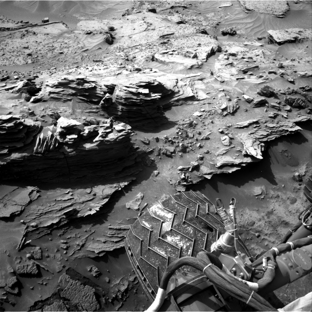 Nasa's Mars rover Curiosity acquired this image using its Right Navigation Camera on Sol 1352, at drive 1778, site number 54