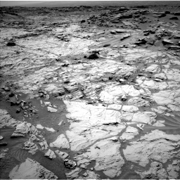 Nasa's Mars rover Curiosity acquired this image using its Left Navigation Camera on Sol 1353, at drive 2078, site number 54