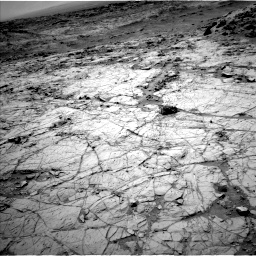 Nasa's Mars rover Curiosity acquired this image using its Left Navigation Camera on Sol 1353, at drive 2108, site number 54