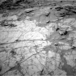 Nasa's Mars rover Curiosity acquired this image using its Left Navigation Camera on Sol 1353, at drive 2132, site number 54