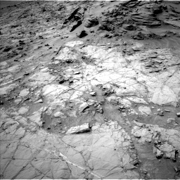 Nasa's Mars rover Curiosity acquired this image using its Left Navigation Camera on Sol 1353, at drive 2162, site number 54