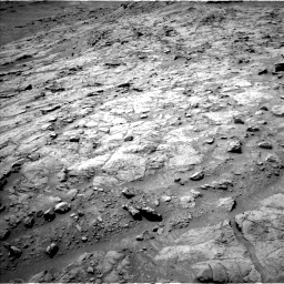 Nasa's Mars rover Curiosity acquired this image using its Left Navigation Camera on Sol 1353, at drive 2192, site number 54