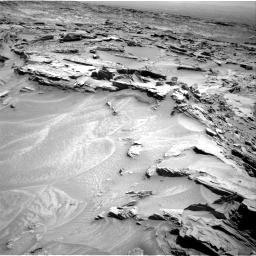Nasa's Mars rover Curiosity acquired this image using its Right Navigation Camera on Sol 1353, at drive 1778, site number 54