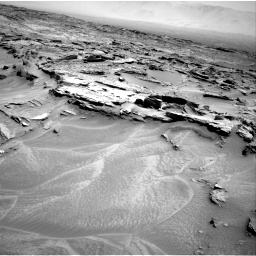 Nasa's Mars rover Curiosity acquired this image using its Right Navigation Camera on Sol 1353, at drive 1784, site number 54