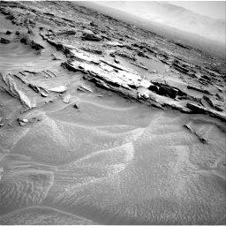 Nasa's Mars rover Curiosity acquired this image using its Right Navigation Camera on Sol 1353, at drive 1790, site number 54