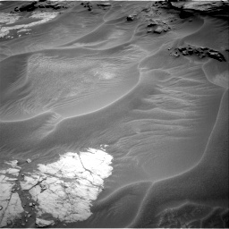 Nasa's Mars rover Curiosity acquired this image using its Right Navigation Camera on Sol 1353, at drive 1928, site number 54