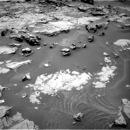 Nasa's Mars rover Curiosity acquired this image using its Right Navigation Camera on Sol 1353, at drive 2054, site number 54