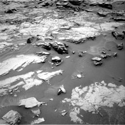 Nasa's Mars rover Curiosity acquired this image using its Right Navigation Camera on Sol 1353, at drive 2060, site number 54