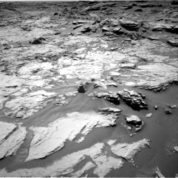 Nasa's Mars rover Curiosity acquired this image using its Right Navigation Camera on Sol 1353, at drive 2066, site number 54