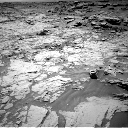 Nasa's Mars rover Curiosity acquired this image using its Right Navigation Camera on Sol 1353, at drive 2072, site number 54