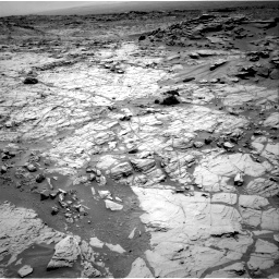 Nasa's Mars rover Curiosity acquired this image using its Right Navigation Camera on Sol 1353, at drive 2084, site number 54