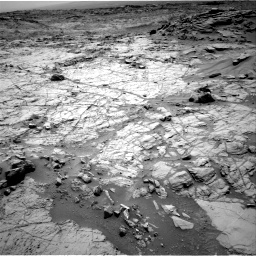 Nasa's Mars rover Curiosity acquired this image using its Right Navigation Camera on Sol 1353, at drive 2090, site number 54