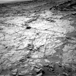 Nasa's Mars rover Curiosity acquired this image using its Right Navigation Camera on Sol 1353, at drive 2102, site number 54