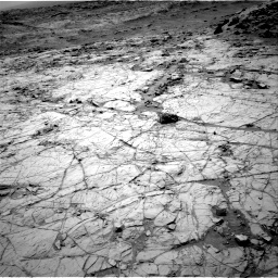 Nasa's Mars rover Curiosity acquired this image using its Right Navigation Camera on Sol 1353, at drive 2114, site number 54