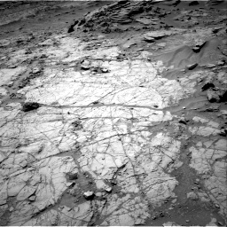Nasa's Mars rover Curiosity acquired this image using its Right Navigation Camera on Sol 1353, at drive 2120, site number 54