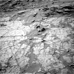 Nasa's Mars rover Curiosity acquired this image using its Right Navigation Camera on Sol 1353, at drive 2126, site number 54