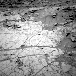 Nasa's Mars rover Curiosity acquired this image using its Right Navigation Camera on Sol 1353, at drive 2138, site number 54