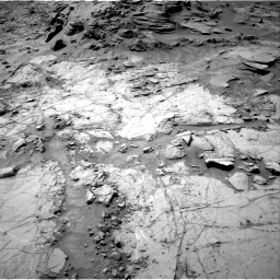 Nasa's Mars rover Curiosity acquired this image using its Right Navigation Camera on Sol 1353, at drive 2156, site number 54
