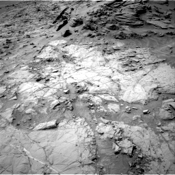 Nasa's Mars rover Curiosity acquired this image using its Right Navigation Camera on Sol 1353, at drive 2162, site number 54