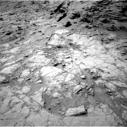 Nasa's Mars rover Curiosity acquired this image using its Right Navigation Camera on Sol 1353, at drive 2168, site number 54