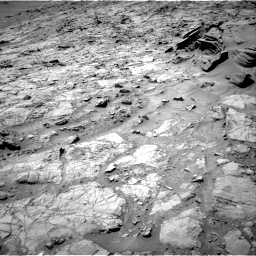Nasa's Mars rover Curiosity acquired this image using its Right Navigation Camera on Sol 1353, at drive 2180, site number 54