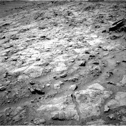 Nasa's Mars rover Curiosity acquired this image using its Right Navigation Camera on Sol 1353, at drive 2186, site number 54